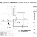 Схема №9. КИП на защитном кожухе (Dy ≥ 700мм).
